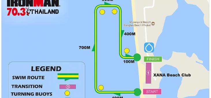 【Race Report】IRONMAN 70.3 Thailand/レース編:スイムパート
